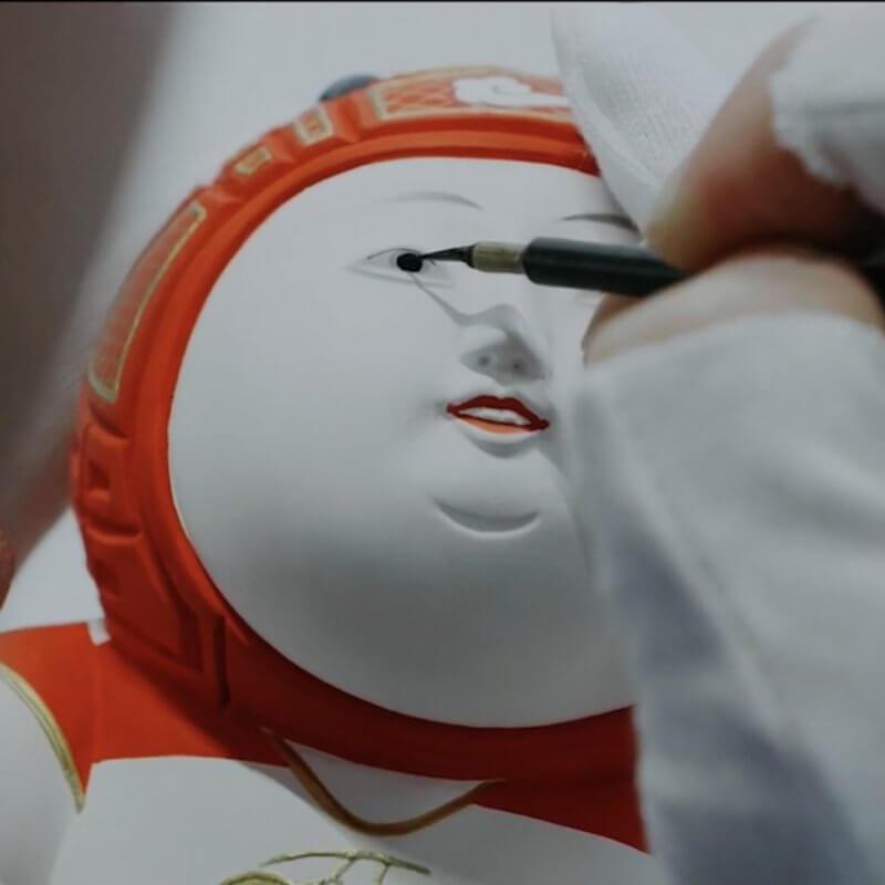 中村弘峰 博多人形 HiromineNakamura HakataDoll Hakata 博多